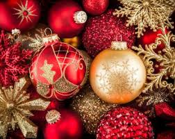 red and gold christmas ornaments lovely ornaments pinterest