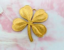 clover ornament etsy