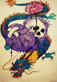 dragon heart by tattoo love forever on deviantart