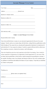 accounting manager cover letter 75 images account manager