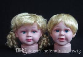 professional kids hairdressing head doll head hair styling baby