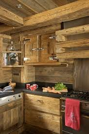 cuisine style chalet rustic kitchen l the essence of the home style