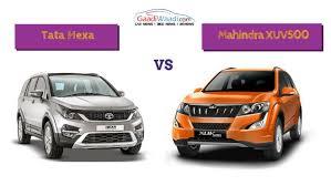 land rover tata tata hexa vs mahindra xuv500 comparison specs comparison