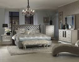 King Bedroom Furniture Sets Villa Couture Alessandra Upholstered Bedroom Set In Glaze With