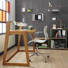working desk computer tables creating a creative working atmosphere interior