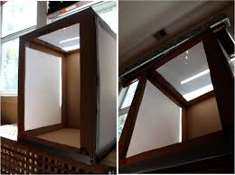 how to make a photo light box how to make a light box