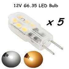Led Replacement Bulbs For Landscape Lights Led G6 35 Bulb Light 12v 3w Bi Pin Base Jc Type Gy6 35 Led Light