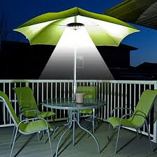 Patio Umbrellas With Led Lights by Patio Umbrella Light 3 Brightness Mode Cordless 28 Led Lights At
