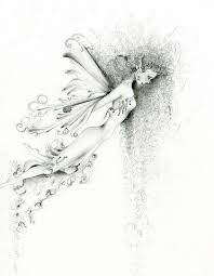 29 best pencil drawing of fairies images on pinterest pencil