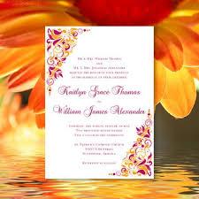 hawaiian themed wedding invitations printable wedding invitation sangria and orange template