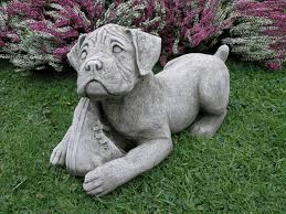 boxer garden ornament ds7 28 49 garden4less uk shop