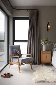 Curtains Corner Windows Ideas Minimalist Corner Windows In Bedroom Planning Home Interior Design