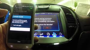 how to connect phone to jeep grand pairing samsung galaxy phone to the uconnect interface