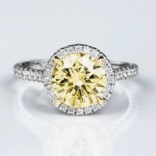 diamond rings round images Fancy light yellow diamond ring round 2 02 carat si1 jpg
