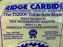 Woodworking Shows 2013 Minnesota by Review Ridge Carbide Tool Ultra Ts2000 Saw Blade By Bigdawg