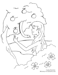 coloring pages adam and eve god made adam and eve coloring pages virtren com