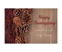 happy thanksgiving from snap surveys snap surveys