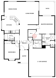 Wisteria Floor Plan by Potomac Floorplan 1480 Sq Ft Sun City Hilton Head 55places Com