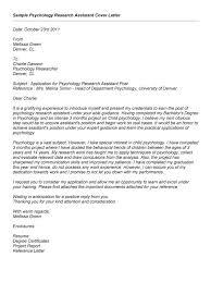 psychology cover letter internship 28 images internship cover