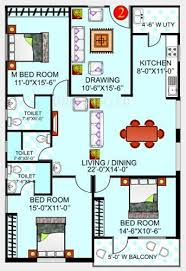 mcg floor plan 1785 sq ft 3 bhk floor plan image gauthami mcg residency