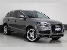 audi q7 autotrader audi q7 suv for sale in wangara wa autotrader com au