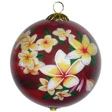 painted hawaiian ornaments hawaiian gift gallery