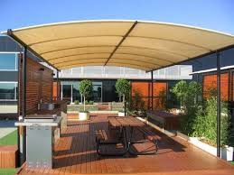 Backyard Shade Canopy by Deck Shade Structure Arm Awnings Blinds Outdoor Umbrellas