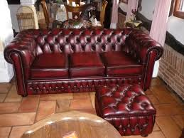 canapé chesterfield occasion canapé chesterfield cuir inspirations et graux canapa