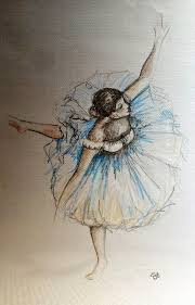 dancer sketch by edgar degas tattoo inspiration pinterest