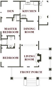 Bungalo Floor Plan Bungalow Floorplan
