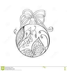 vector christmas ball with summer ornament inside butterfly and