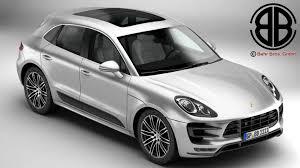 2017 porsche macan turbo porsche macan turbo 2015 3d model vehicles 3d models 3ds max fbx