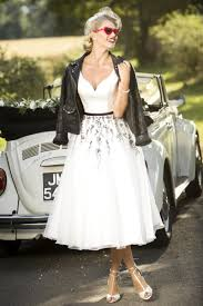 tea length bridal and 50 u0027s style short wedding dresses brighton