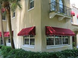 Tampa Awnings Canvas Awning Recovers In Sunbrella Tampa Bay Fl