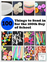 100 things to send in for the 100th day of jdaniel4s mom