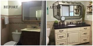 bathroom remodel before u0026 after