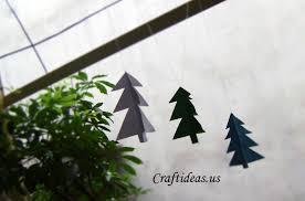 christmas ideas christmas tree garland tutorial craft ideas