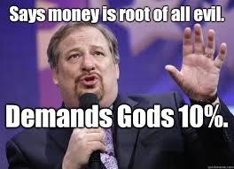 Pastor Meme - hypocrite pastor on money memedroid