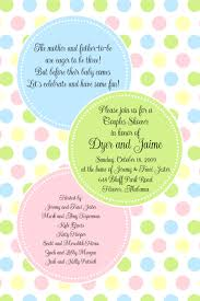 polka dot invitations baby shower invitation