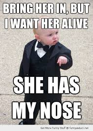 Gangster Baby Meme - funny gangster baby meme got my nose pics munofore