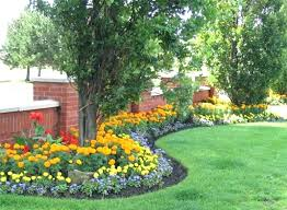 Backyard Plants Ideas Landscape Flower Bed Landscape Bed Ideas Images About Flower Bed