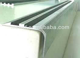 vinyl stair treads vinyl stair treads stair nosing for carpeted