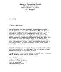 recommendation letter sample for teacher from student http www