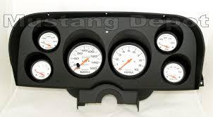 mustang custom gauges 1969 1970 mustang 6 instrument cluster kits free shipping