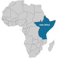 Eastern Africa Map by East Africa Clinapharm
