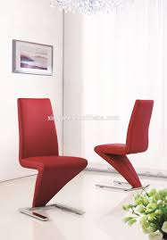 Faux Leather Dining Chairs With Chrome Legs Modern Dining Room Stainless Steel Table Furniture Glass Marble