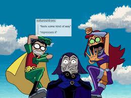 Teen Titans Memes - teen titans tumblr text post meme teen titans moga s edits mogadeer