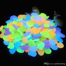 glow in the decorations glow in the luminous pebbles stones for wedding
