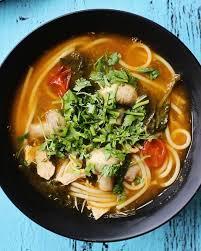 cuisine thailandaise traditionnelle une bonne façon de revisiter la soupe poulet et nouilles