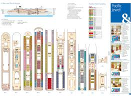 pacific jewel cruise ship u0026 deck plan